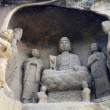 Ancient buddhstatue — Stock Photo #23823311