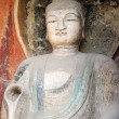 Stock Photo: Ancient buddhstatue