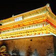 Drum Tower in Xian, China — Stock Photo