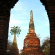 Ancient wat in Thailand — Stock Photo