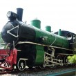 Stock Photo: Preserved steam locomotive