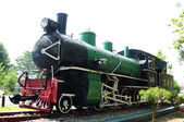 Preserved steam locomotive — Stock Photo