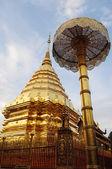 Templo de Doi suthep en chiang mai, Tailandia — Foto de Stock