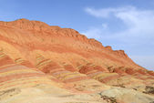 Landscape of Danxia landform — Stock Photo