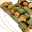 Sticky rice steamed in bamboo leaves — Stock Photo