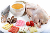 Chinese Food: Duck Soup — Stock Photo