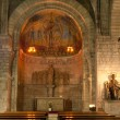 Stock Photo: Inside of Sant Pere de les Puel.les Church
