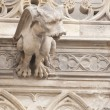 Royalty-Free Stock Photo: Gargoyle Statues on Gothic Cathedral