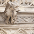 Stock Photo: Gargoyle Statues on Gothic Cathedral