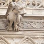 Gargoyle Statues on Gothic Cathedral — Stock Photo #14167430