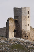 Ancient Tower of a fortress — Stock Photo
