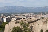 Walls of Tortosa Fortress — Stock Photo