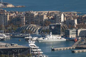 Old Port (Port Vell), Barcelona — Stock Photo