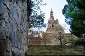 Montjuic National Palace — 图库照片