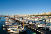 Marina in blanes — Stockfoto