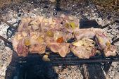 Steak na gril — Stock fotografie