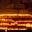 Candels in a Church — Stock Photo
