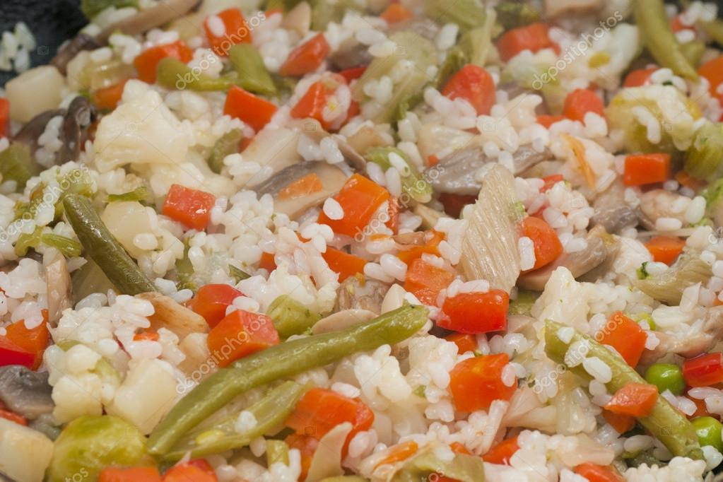 Boled Rice with Vegetables — Stock Photo #14417797