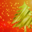 Christmas Tree Abstract — Stock Photo
