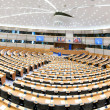 Stock Photo: Hemicycle, debating chamber