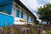 Starý dům v obci letea — Stock fotografie