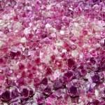 Purple Amethyst Cluster Background — Stock Photo