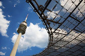 The Olympic tower in Munich in Germany — Stockfoto