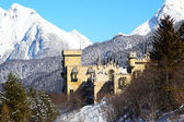 Seefeld castle covered in snow — Stock Photo