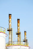 Oil and Gas Refinery Plant — Stock Photo