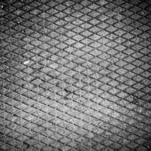 Black and white artistic ironl texture — Stock Photo