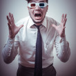 Businessmwith 3d eyewear — Stock Photo #23352356