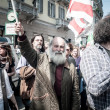 April 25 2013 celebration of liberation in Milan — Stock Photo
