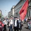 Stock Photo: April 25 2013 celebration of liberation in Milan