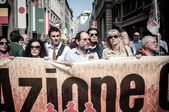 April 25 2013 celebration of liberation in Milan — Stock Photo