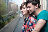 Couple embracing — Stock Photo
