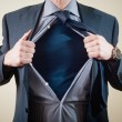 Superhero businessman - Stockfoto