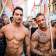 Gay Pride parade in Milan on June, 29 2013 — Stock Photo #27501523