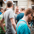 Gay Pride parade in Milan on June, 29 2013 — Stock Photo