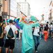 Stock Photo: Gay Pride parade in Milon June, 29 2013