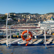 genoa port in agoust 2013 — Stock Photo #29909979