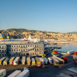 Stock Photo: Genoa port in agoust 2013