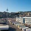 genoa port in agoust 2013 — Stock Photo #29919451