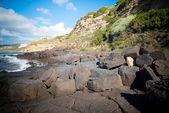 Sardinia Lubagnu beach — Stock Photo