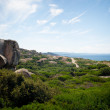 Costa paradiso sardinia sea landscape — Stock Photo