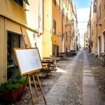 Alghero city of Sardinia in summer 2013 — Stock Photo