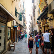 Alghero city of Sardinia in summer 2013 — Stock Photo