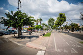 Ciudad de alguer de cerdeña en verano 2013 — Foto de Stock