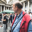 269 life manifestation in Milan on September, 26 2013 — Stock Photo