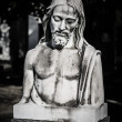 Jesus christ statue — Stock Photo