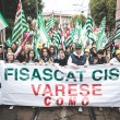 National Strike of tourism in Milan on October, 31 2013 — Stock Photo